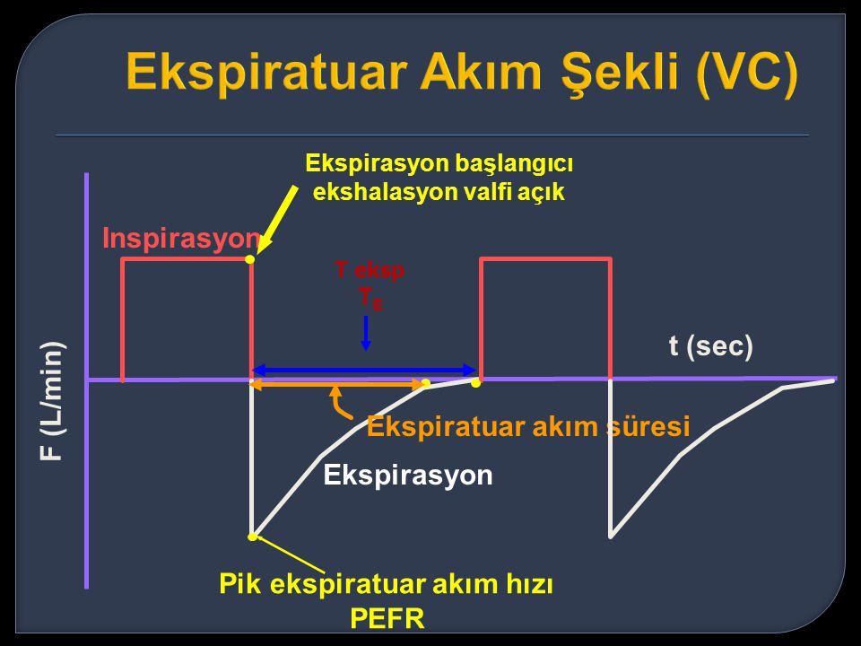Ekspiratuar Akım Şekli (VC)
