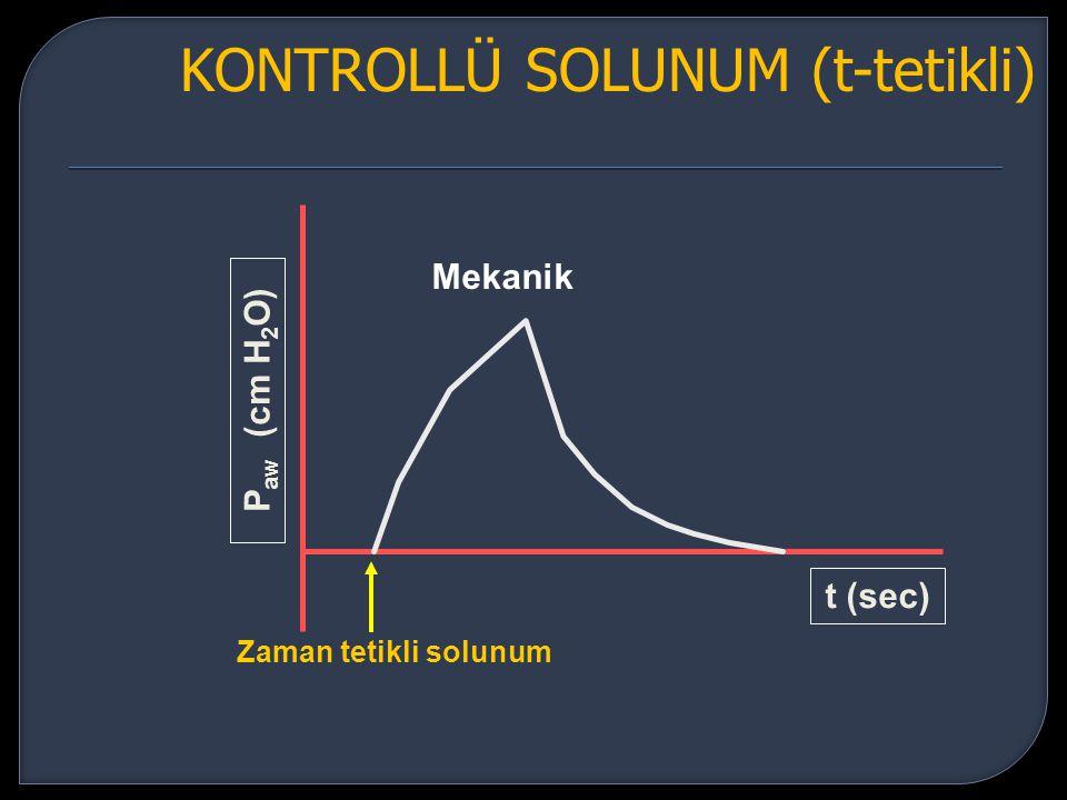 KONTROLLÜ SOLUNUM (t-tetikli)