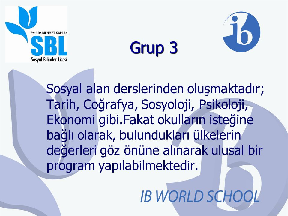 Grup 3