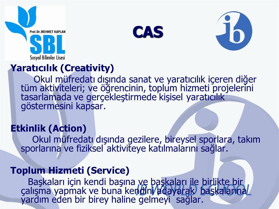 CAS Yaratıcılık (Creativity)