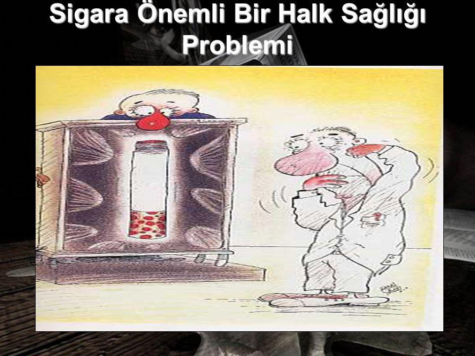 Sigara Önemli Bir Halk Sağlığı Problemi