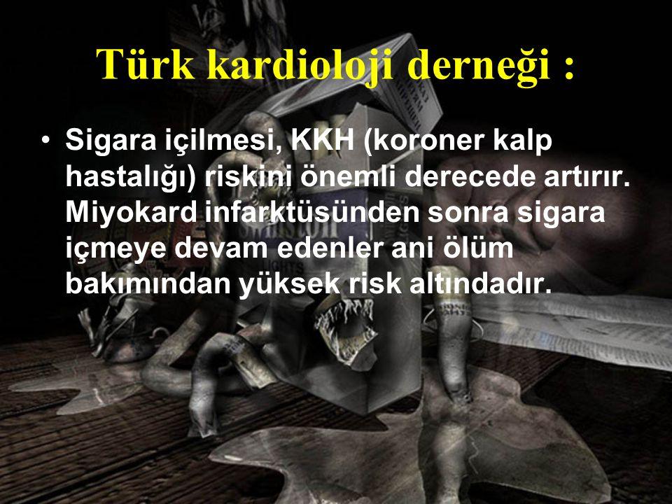 Türk kardioloji derneği :