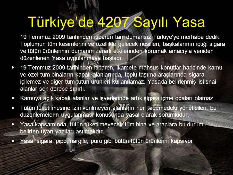 Türkiye'de 4207 Sayılı Yasa