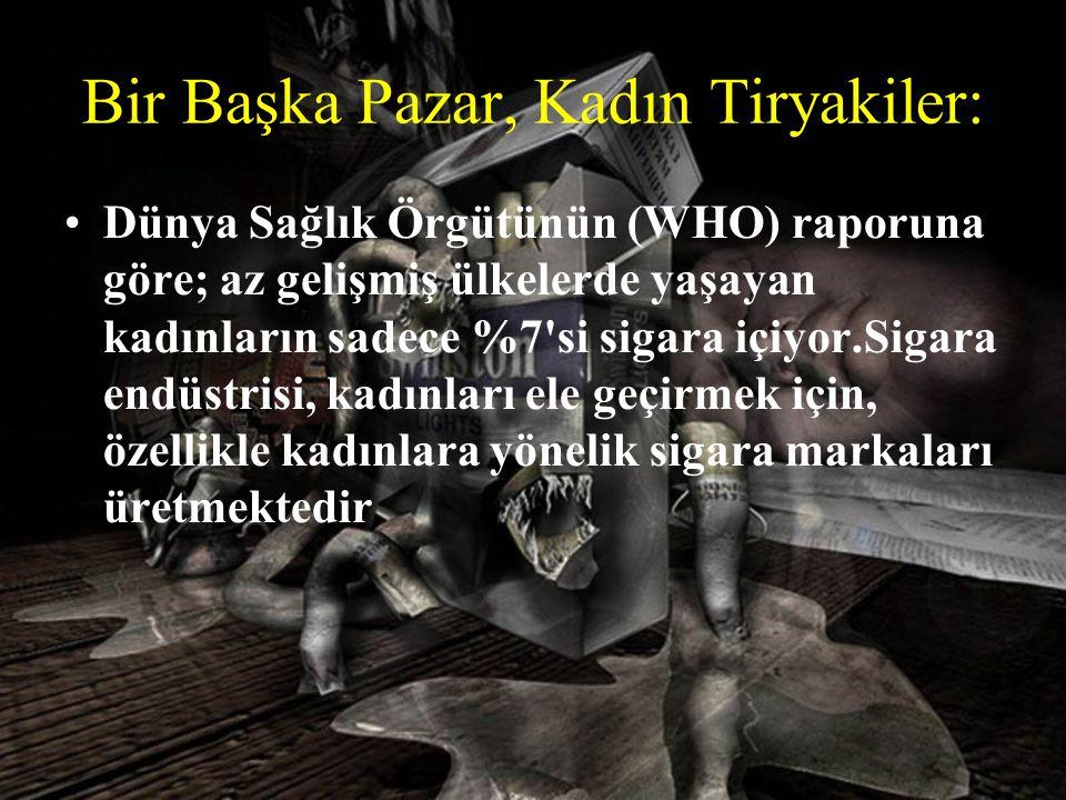 Bir Başka Pazar, Kadın Tiryakiler: