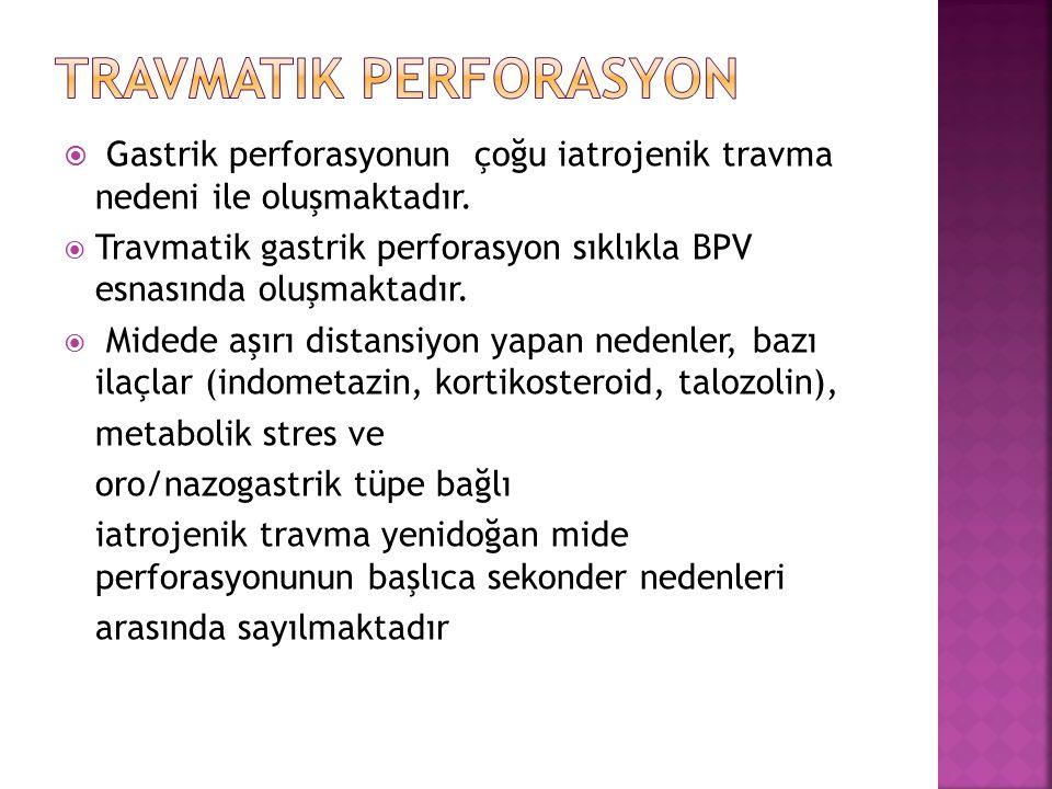 Travmatik perforasyon