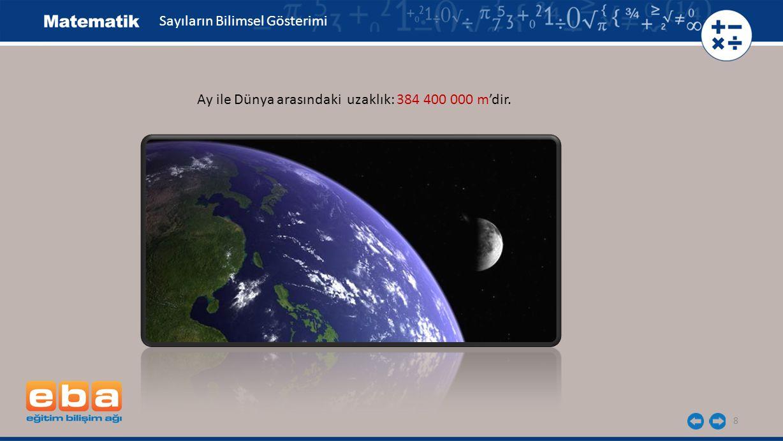 Sayıların Bilimsel Gösterimi
