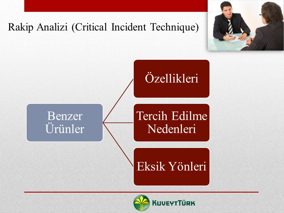 Rakip Analizi (Critical Incident Technique)