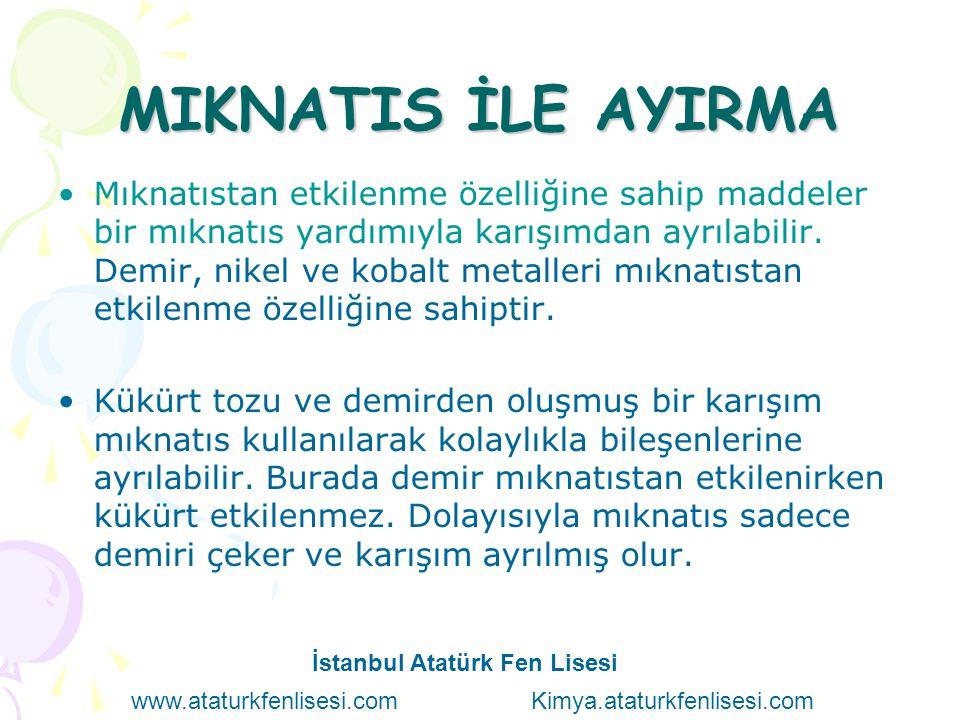 MIKNATIS İLE AYIRMA