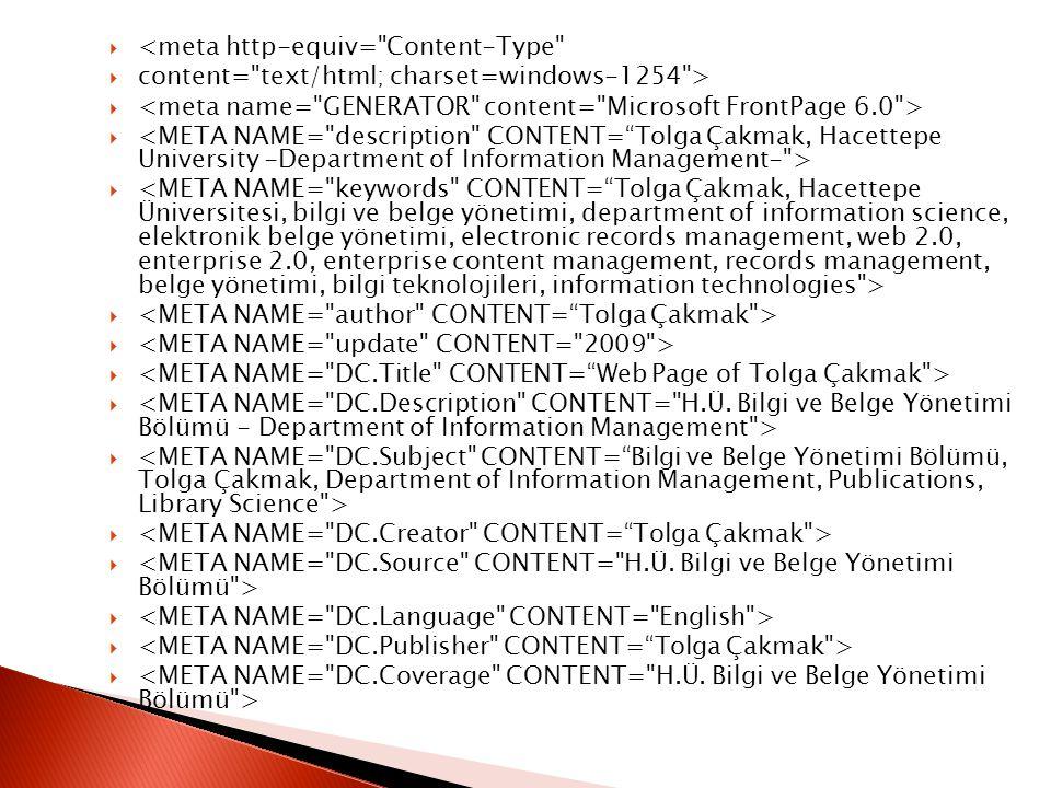 <meta http-equiv= Content-Type