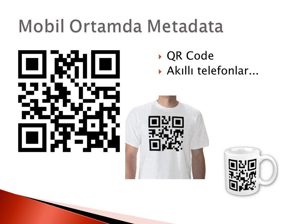 Mobil Ortamda Metadata