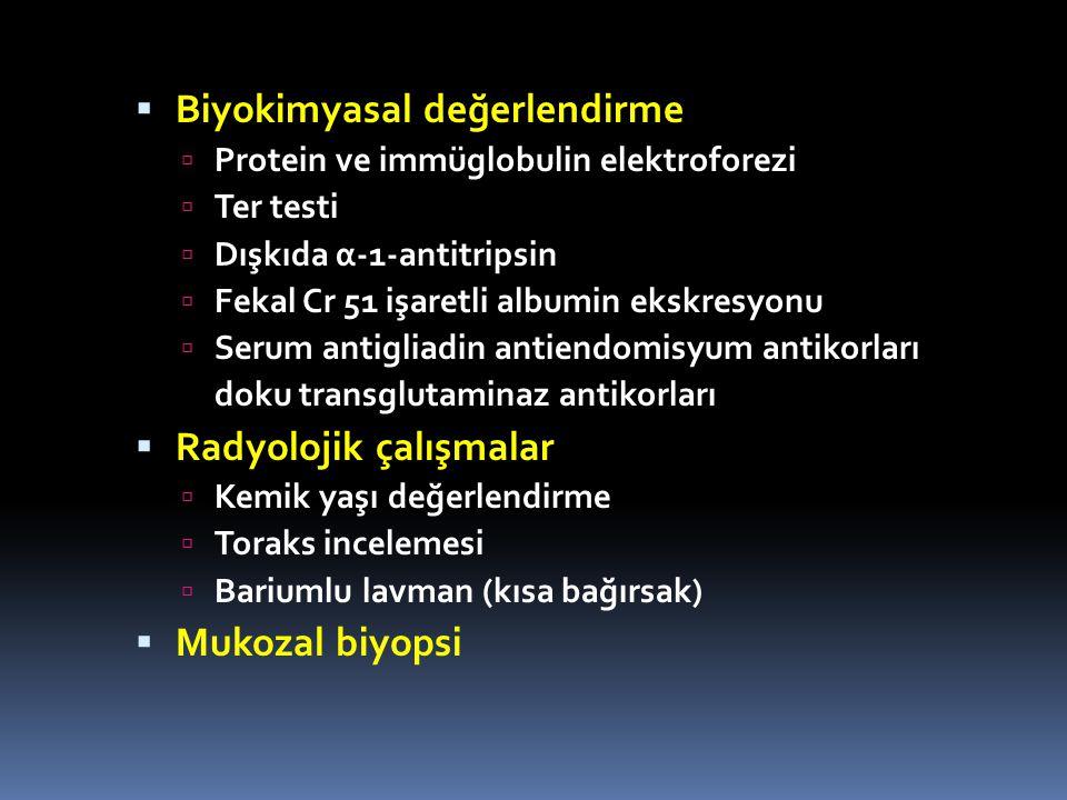 Biyokimyasal değerlendirme