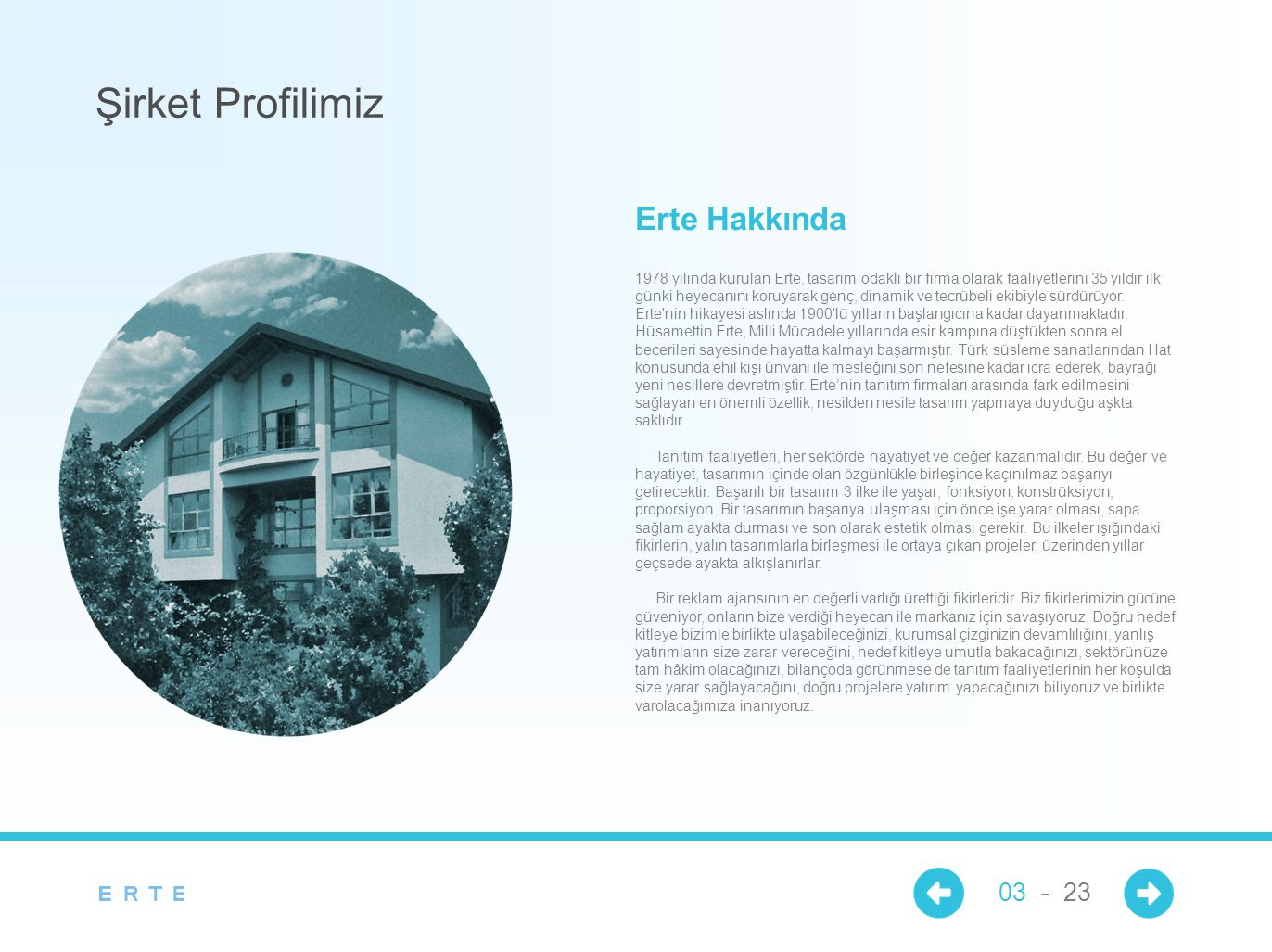 Şirket Profilimiz Erte Hakkında 03 - 23