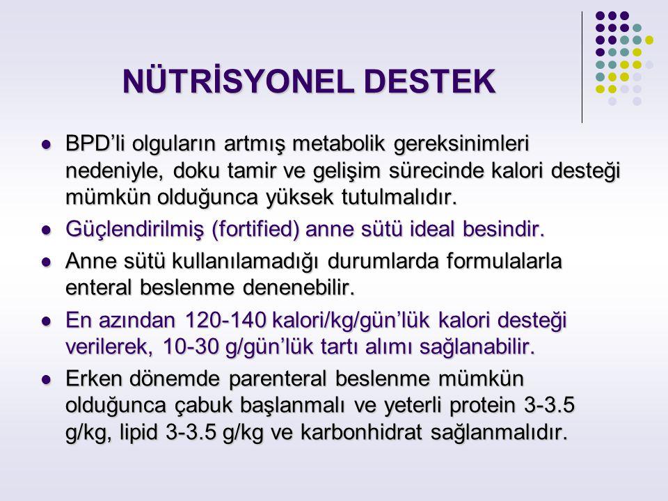 NÜTRİSYONEL DESTEK