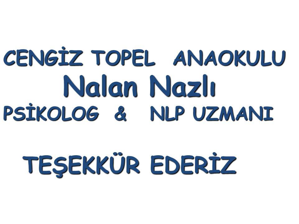 Nalan Nazlı PSİKOLOG & NLP UZMANI