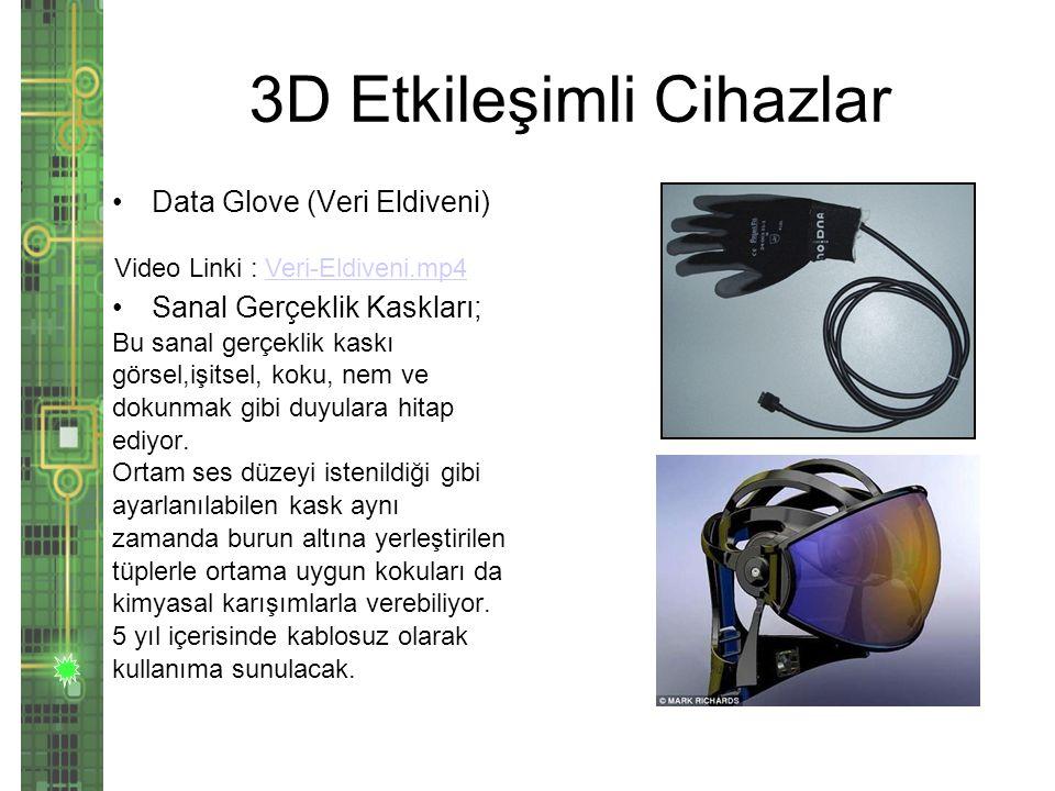 3D Etkileşimli Cihazlar