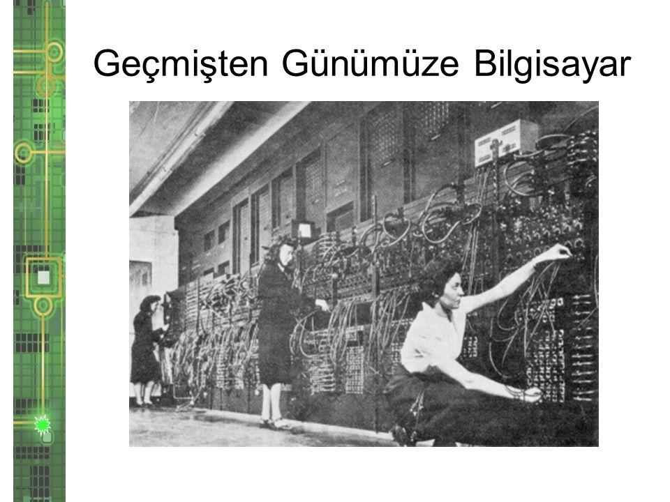 Geçmişten Günümüze Bilgisayar