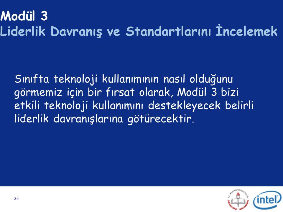Modül 3 Liderlik Davranış ve Standartlarını İncelemek