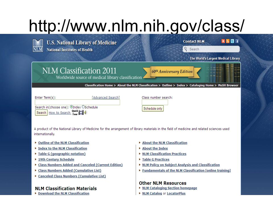 http://www.nlm.nih.gov/class/