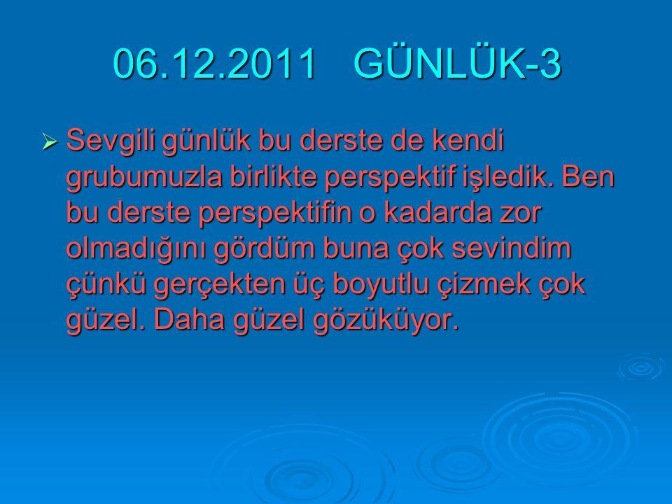 06.12.2011 GÜNLÜK-3