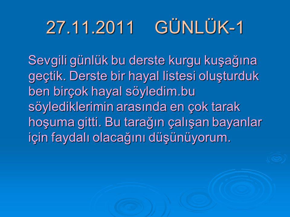27.11.2011 GÜNLÜK-1
