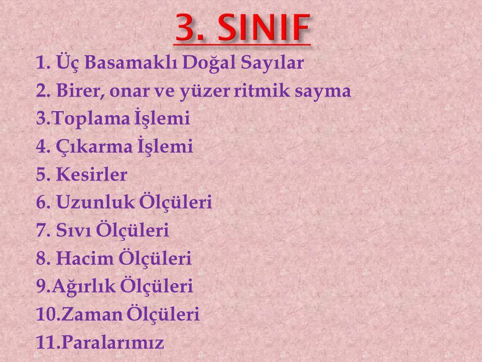 3. SINIF