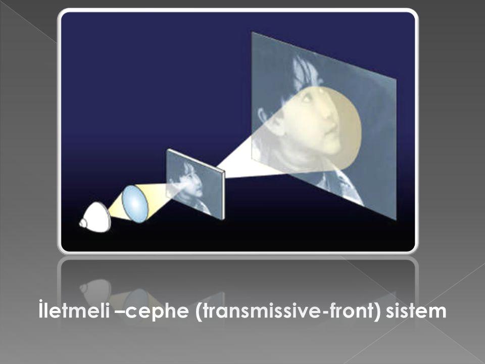 İletmeli –cephe (transmissive-front) sistem