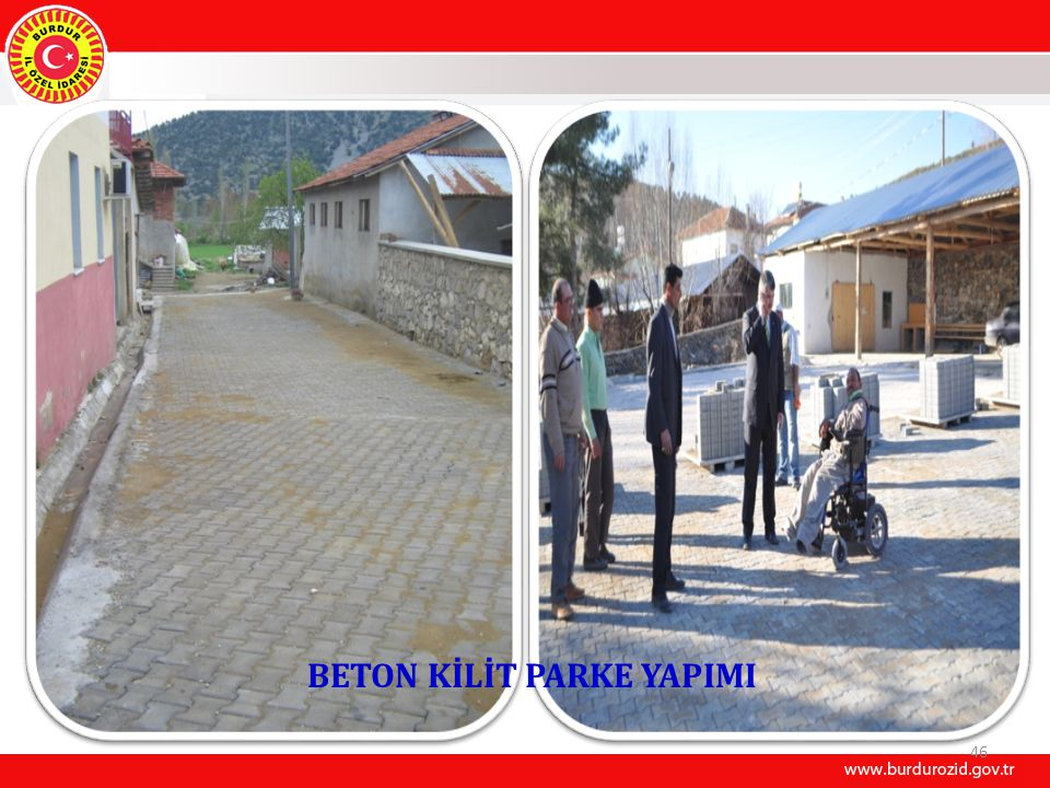 BETON KİLİT PARKE YAPIMI