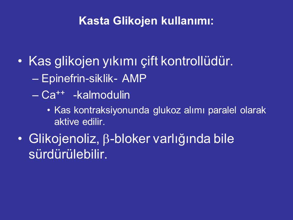 Kasta Glikojen kullanımı: