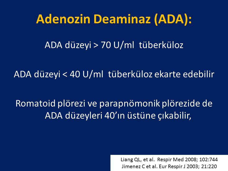 Adenozin Deaminaz (ADA):