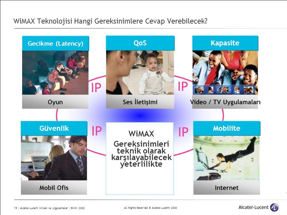 WiMAX Teknolojisi Hangi Gereksinimlere Cevap Verebilecek