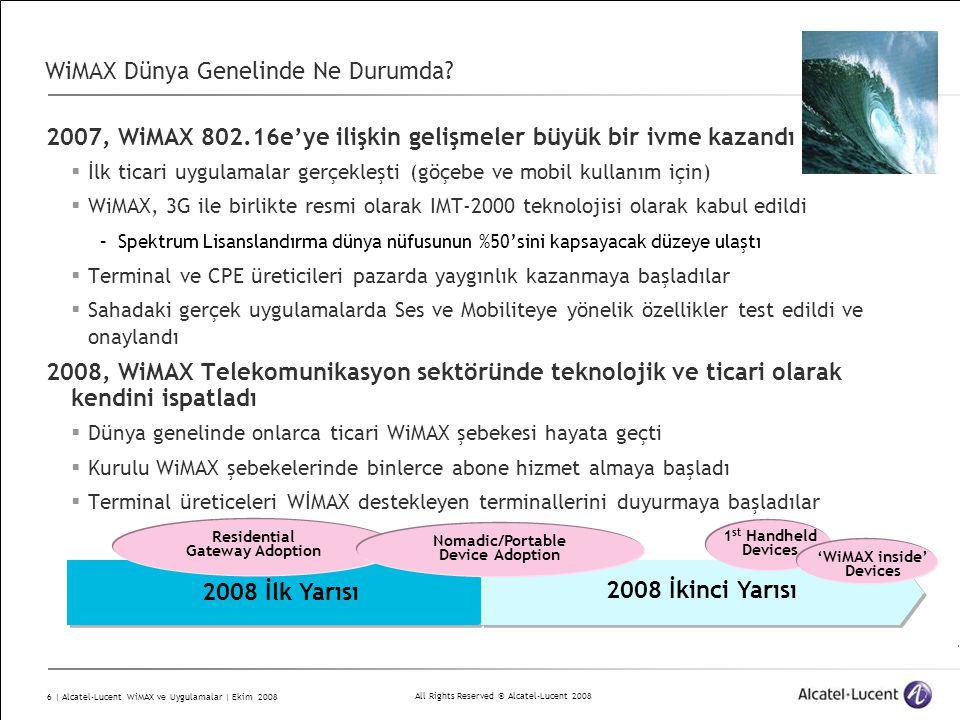 WiMAX Dünya Genelinde Ne Durumda