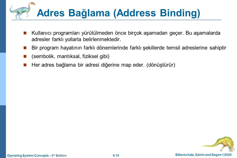 Adres Bağlama (Address Binding)