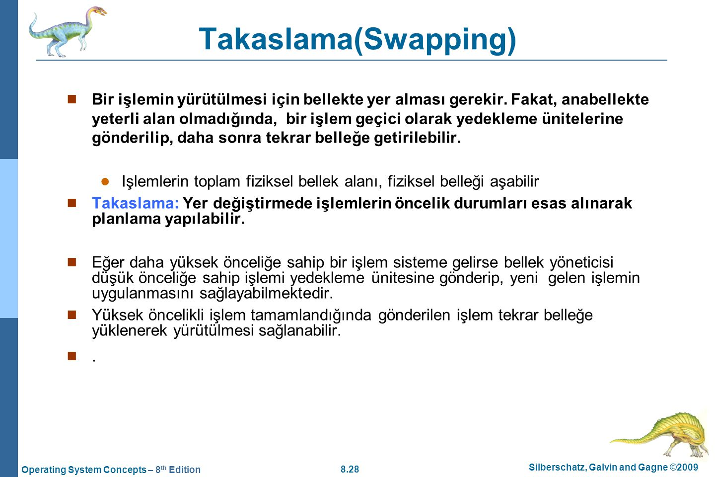 Takaslama(Swapping)