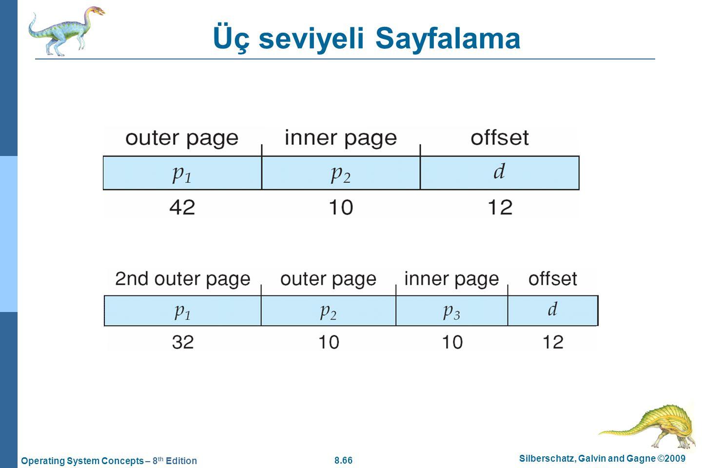 Üç seviyeli Sayfalama