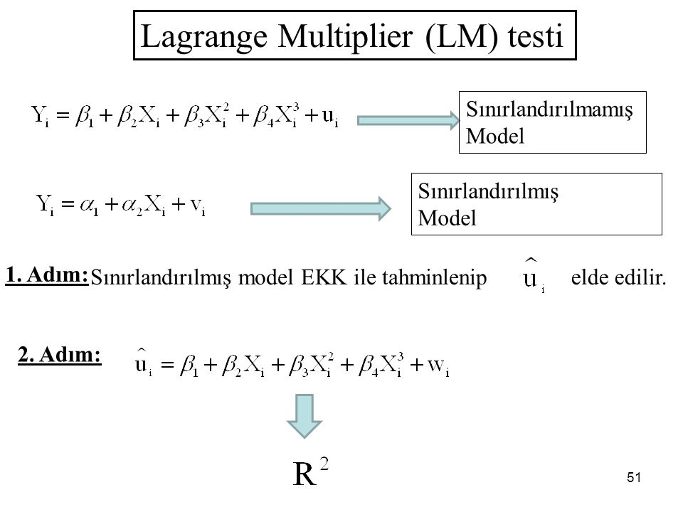 Lagrange Multiplier (LM) testi