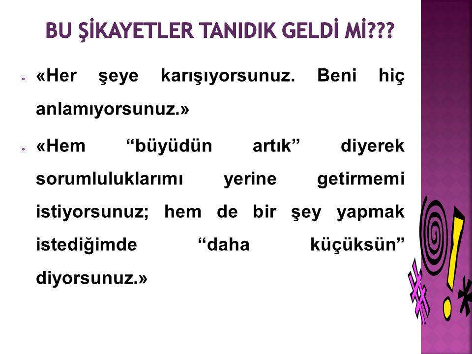 BU ŞİKAYETLER TANIDIK GELDİ Mİ