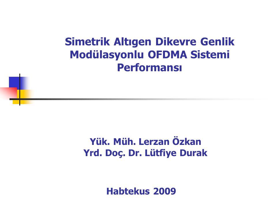 Simetrik Altıgen Dikevre Genlik Modülasyonlu OFDMA Sistemi Performansı