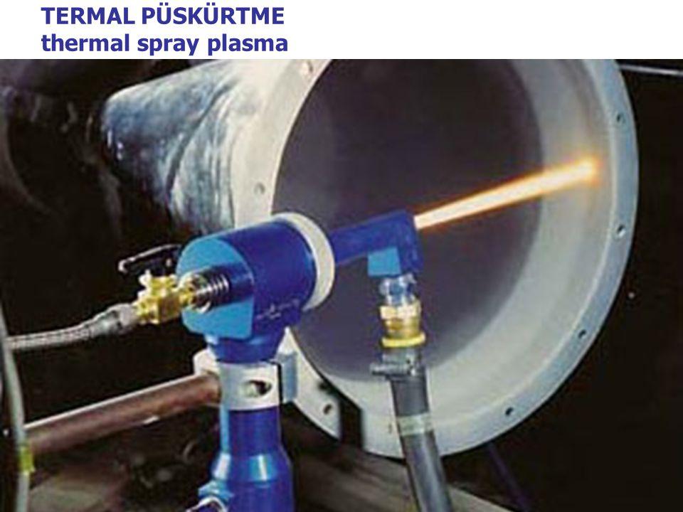 TERMAL PÜSKÜRTME thermal spray plasma