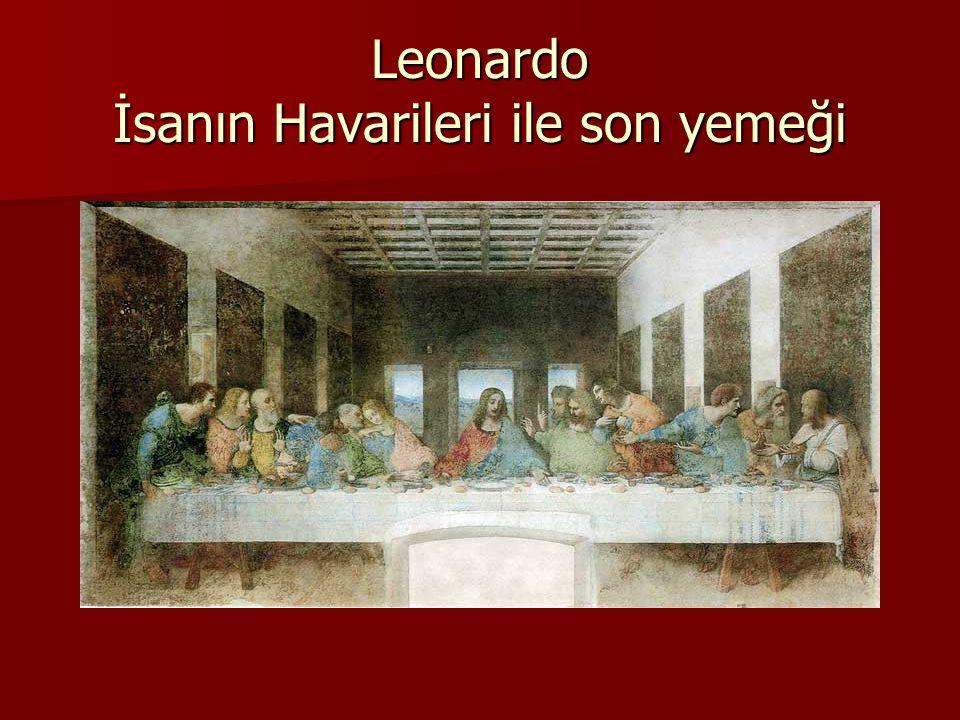 Leonardo İsanın Havarileri ile son yemeği