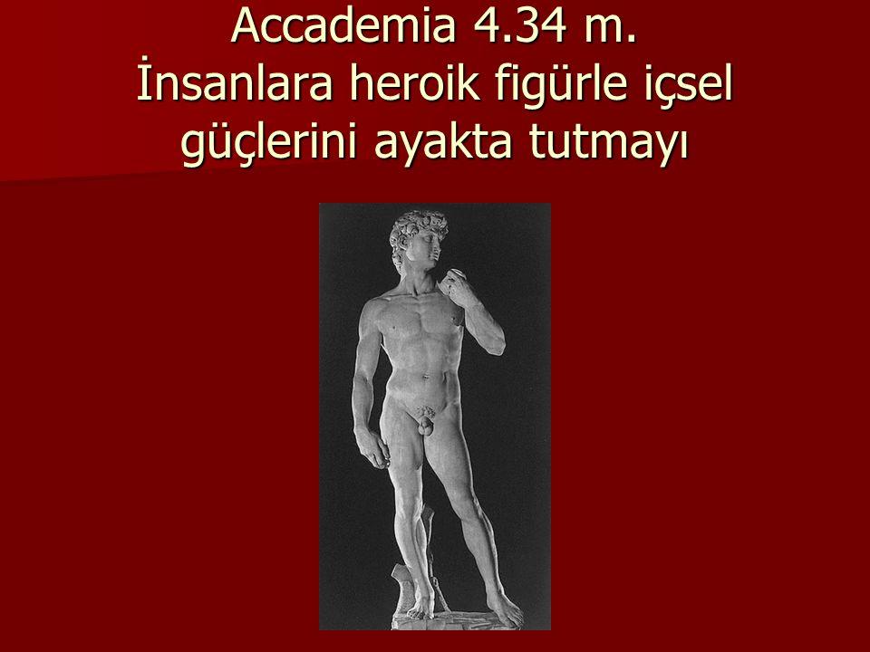 Davud 1502-1504 Floransa Accademia 4. 34 m