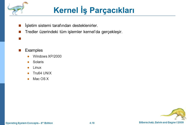 Kernel İş Parçacıkları