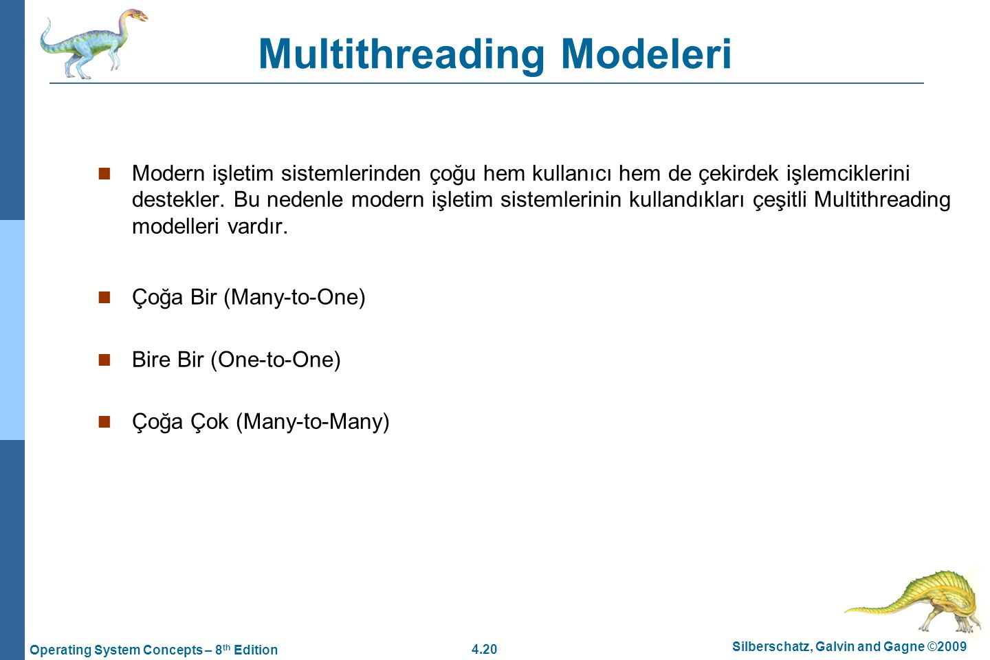 Multithreading Modeleri