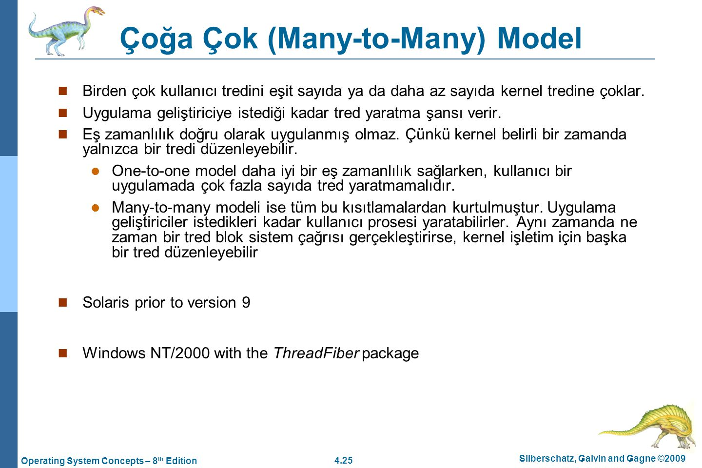 Çoğa Çok (Many-to-Many) Model