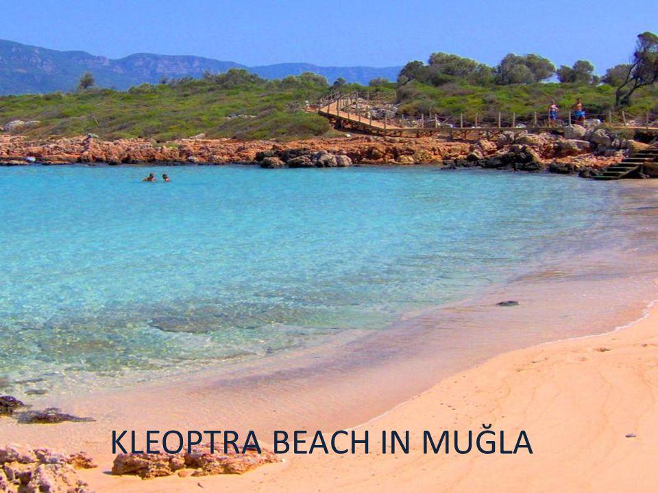 KLEOPTRA BEACH IN MUĞLA