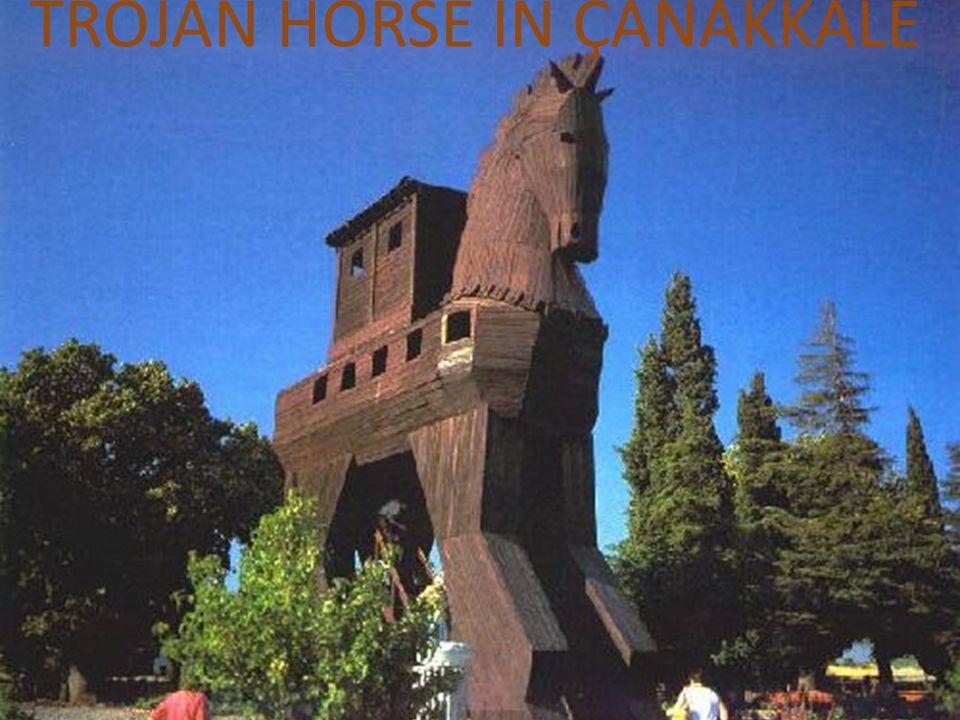 TROJAN HORSE IN ÇANAKKALE