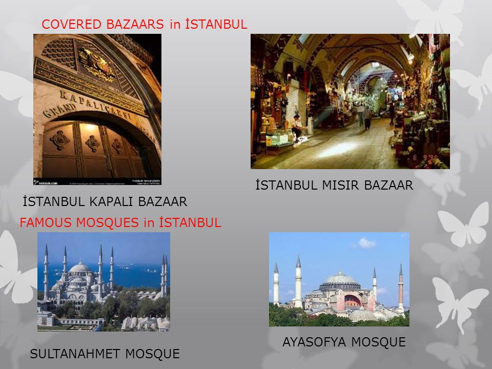 COVERED BAZAARS in İSTANBUL