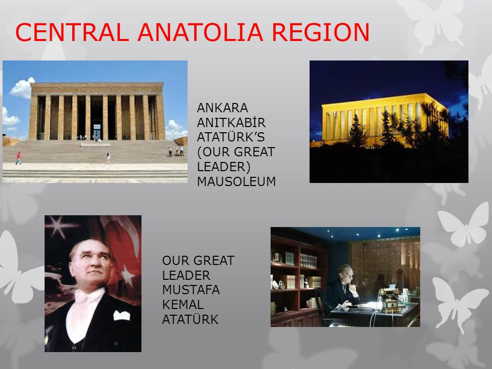 CENTRAL ANATOLIA REGION