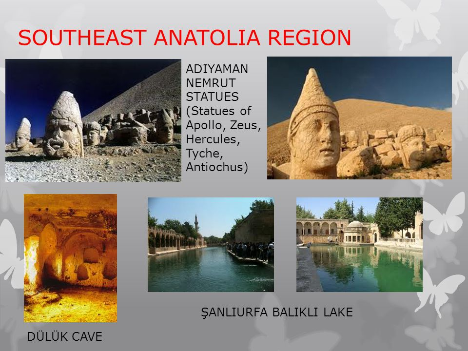 SOUTHEAST ANATOLIA REGION