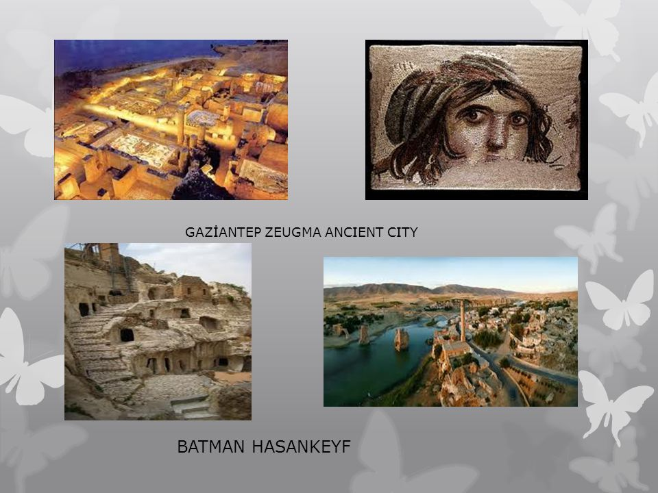 GAZİANTEP ZEUGMA ANCIENT CITY
