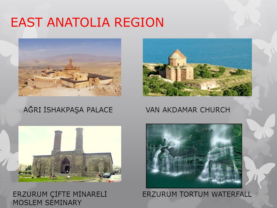 EAST ANATOLIA REGION AĞRI İSHAKPAŞA PALACE VAN AKDAMAR CHURCH